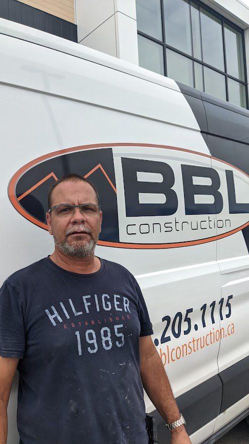 Luc Tessier, contremaitre, BBL Construction